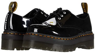 Dr. Martens 1461 Quad Hello Kitty (Black/White) Women's Shoes