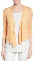 Nic+Zoe Petite Women's '4-Way' Convertible Three Quarter Sleeve Cardigan