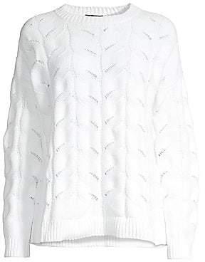 Eileen Fisher Women's Organic Cotton Crewneck Sweater