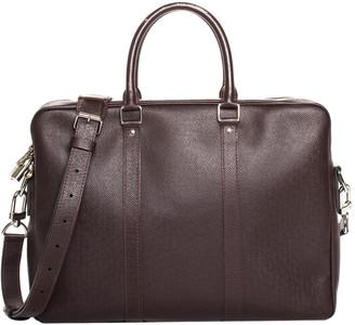 Louis Vuitton Maroon Taiga Leather Porte Documents Voyage