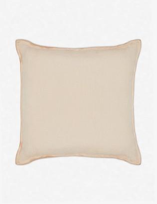 Lulu & Georgia Arlo Linen Pillow, Blush