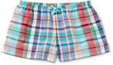 Ralph Lauren Plaid Cotton Short