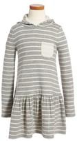 Tucker + Tate Toddler Girl's Stripe Hoodie Knit Dress