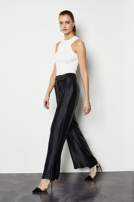 Karen Millen Summer Stripe Wide Leg Trousers