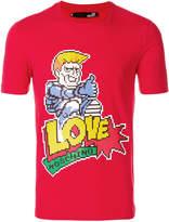 Love Moschino Love pixel T-shirt