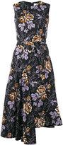 Victoria Beckham floral print dress - women - Cotton - 12