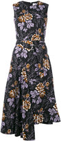 Victoria Beckham floral print dress - women - Cotton - 8