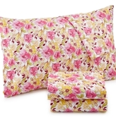 Jessica Sanders Printed Microfiber Queen 4-Pc Sheet Set