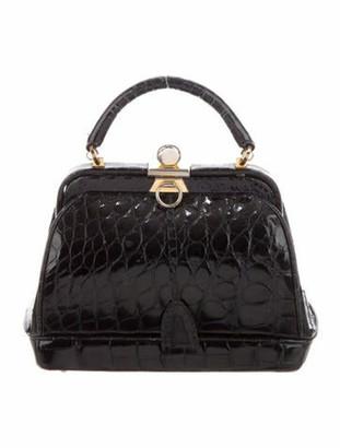Lana Of London Alligator Handle Bag Lana
