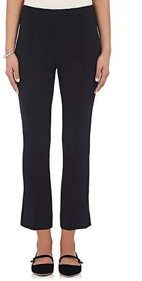 Lisa Perry Women's Ponte-Knit Crop Flared Trousers - Black