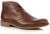 J By Jasper Conran Tan Leather Chukka Boots