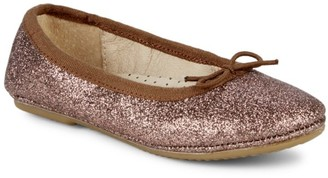 Old Soles Baby's & Girl's Cruise Glitter Leather Ballet Flats