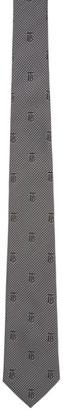 Burberry Grey Houndstooth Manston Tie