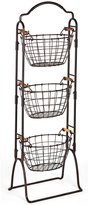 Mikasa Harbor 3-Tier Wire Market Basket