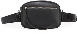 AllSaints Captain Smooth Leather Belt Bag