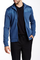 HUGO BOSS Cannobio Knit & Woven Zip Jacket