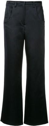 CHRISTOPHER ESBER Plain Flared Trousers