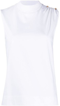 Ganni sleeveless T-shirt