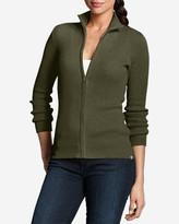 Eddie Bauer Women's Medina Zip Cardigan Sweater