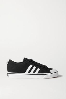 adidas Nizza Canvas Sneakers - Black