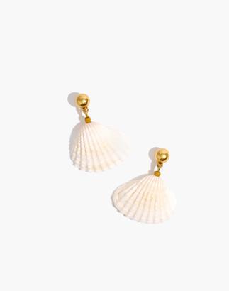 Madewell x Warm Shell Drop Earrings
