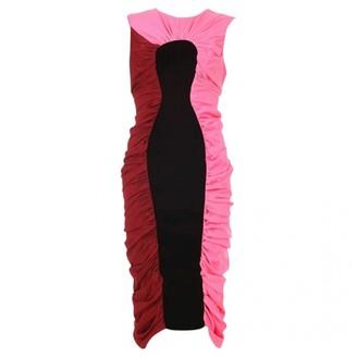 Emilio De La Morena Pink Cotton - elasthane Dress for Women
