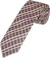 Oxford Silk Tie Checks Reg X
