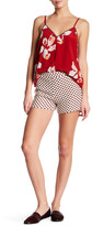 Alice + Olivia Connor Metallic Polka Dot Short