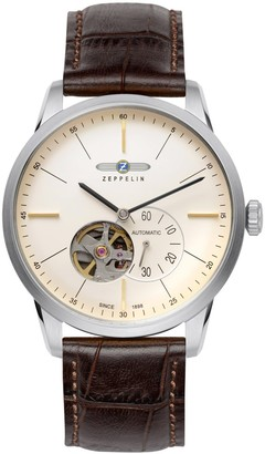 Zeppelin 7364-5Watch with Brown Leather Strap