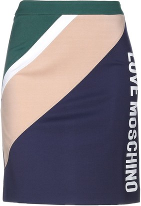 Love Moschino Knee length skirts