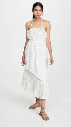 ENGLISH FACTORY Floral Maxi Dress