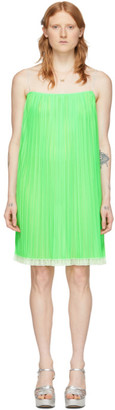 Marc Jacobs Green The Cami Slip Dress