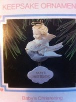 Hallmark keepsakes ornament baby's christening Angel/bird 1993