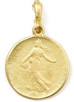 Dominique Cohen Goddess 18k Yellow Gold Classic Coin Enhancer