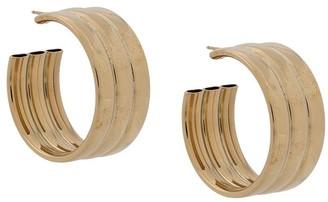 Laura Lombardi Gianna hoop earrings