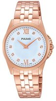 Pulsar Women's Watch Analogue Quartz Stainless Steel Coated PM2180X1