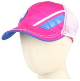 Crocs Retro Kids Hat (Fuschia/Sea Blue/White) - Hats