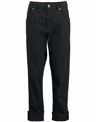 Brunello Cucinelli Black Garment Dyed Denim Pant
