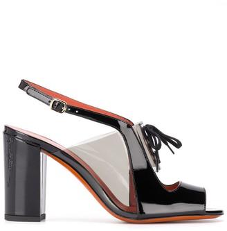 Santoni Lace-Up Sandals