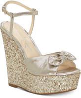 Jessica Simpson Amella Bow Wedge Sandals