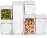 Martha Stewart Collection CLOSEOUT! Martha Stewart Collection 12 Pc. Stack & Store Food Storage Set