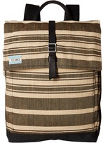 Toms Two-Tone Stripe Backpack