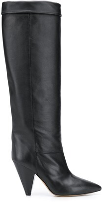 Isabel Marant Knee-Length Cone Heel Boots