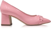 Moschino Pink Patent Leather Pump