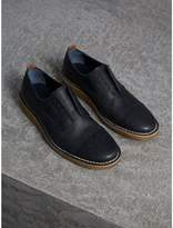 Burberry Raised Toe-cap Nappa Leather Brogues