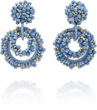 Bibi Marini Baru Mini Gold-Plated Bead and Crystal Earrings