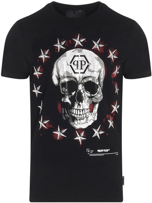 Philipp Plein Stars And Skulls T-Shirt