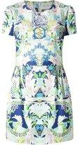 Mary Katrantzou 'Calligraphy Garden' print dress