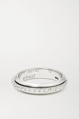 Piaget Possession 18-karat White Gold Diamond Ring - 50