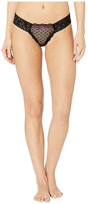 Hanky Panky Cupid Low Rise Diamond Thong (Multi) Women's Underwear